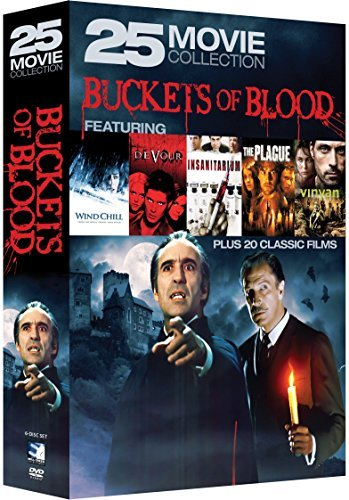 Buckets Of Blood 25 Movie Collection DVD Nr
