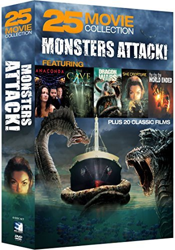 Monsters Attack! 25 Movie Collection DVD