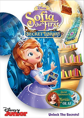 Sofia The First Secret Library DVD