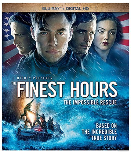 Finest Hours Pine Affleck Foster Bana Blu Ray Dc Pg13