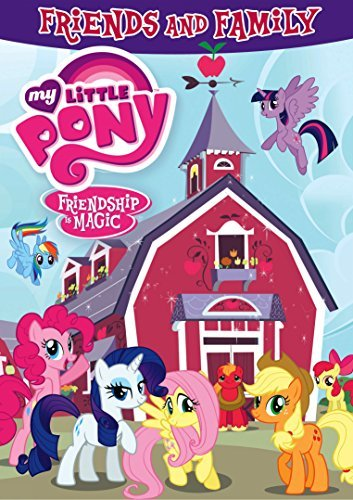 My Little Pony Friendship Is Magic Friends And Family DVD