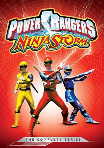 Power Rangers Ninja Storm Complete Series DVD