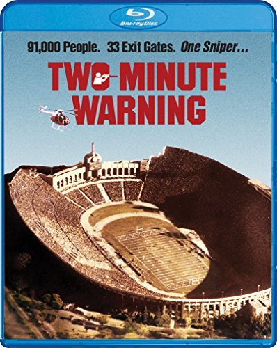 Two Minute Warning Heston Cassavantes Blu Ray R