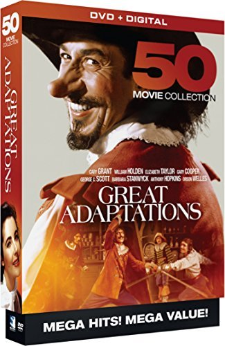 Great Adaptations 50 Movie Megapack DVD