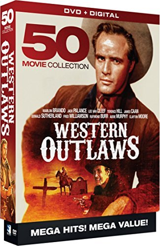 Western Outlaws 50 Movie Megapack DVD