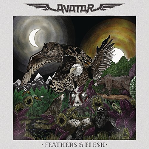 Avatar Feathers & Flesh Import Gbr Incl. DVD