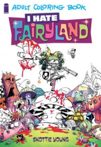 Skottie Young I Hate Fairyland Adult Coloring Book