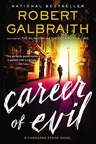 Robert Galbraith Career Of Evil