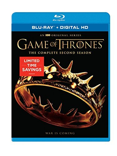 Game Of Thrones Season 2 Blu Ray Limited Time Bargain Price