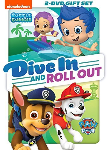 Paw Patrol Bubble Guppies Dive In & Roll Out DVD