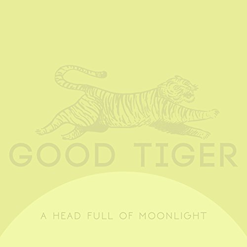 Good Tiger Head Full Of Moonlight