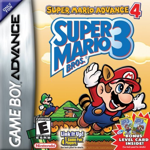 Gba Super Mario Advance 4 Super Mario Bros 3