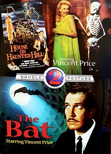 House On Haunted Hill The Bat Double Feature