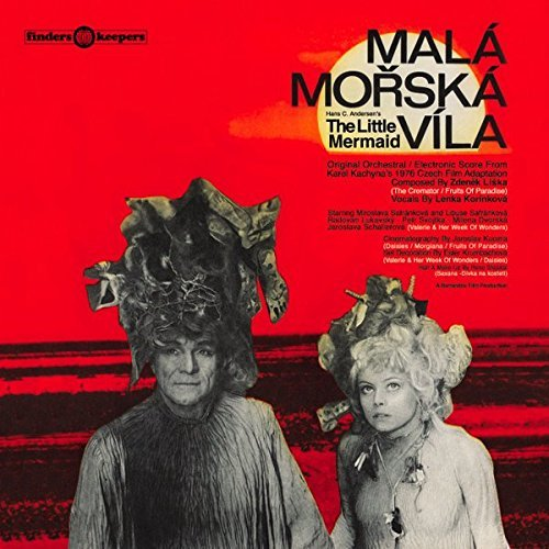Mala Morska Vila (little Mermaid) Soundtrack Zdenek Liska Lp