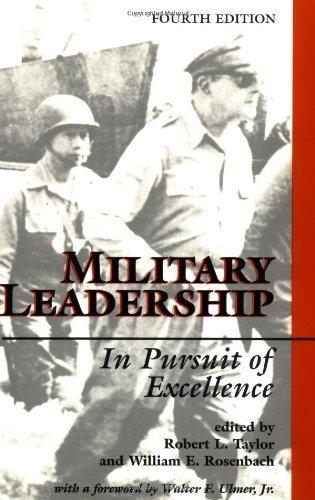 Robert L. Taylor Military Leadership In Pursuit Of Excellence 4th Edition