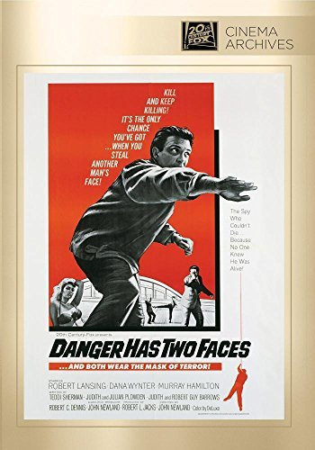 Danger Has Two Faces Danger Has Two Faces DVD Mod This Item Is Made On Demand Could Take 2 3 Weeks For Delivery