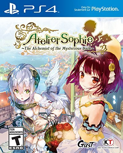 Ps4 Atelier Sophie The Alchemist Of The Mysterious Book