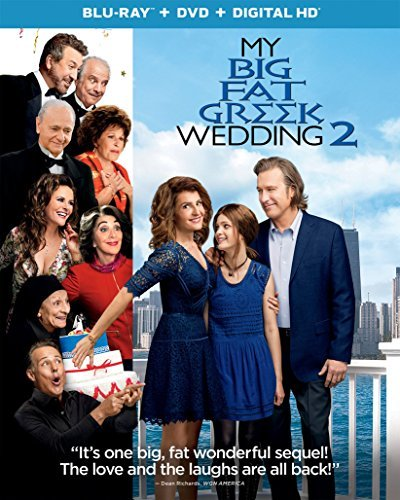 My Big Fat Greek Wedding 2 Vardalos Corbett Blu Ray DVD Dc Pg13