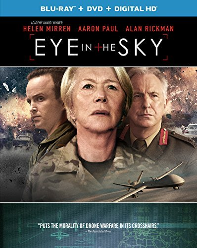 Eye In The Sky Mirren Rickman Paul Blu Ray DVD Dc R
