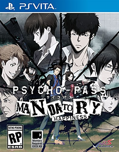 Playstation Vita Psycho Pass Mandatory Happiness