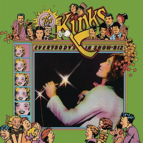 Kinks Everybody's In Showbiz 3lp
