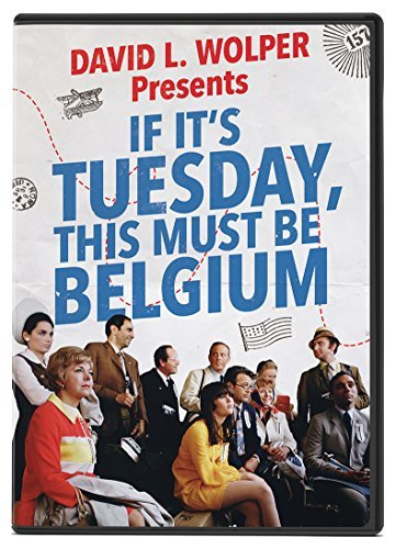 If It's Tuesday This Must Be Belgium Pleshette Mcshane DVD G