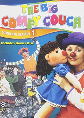 Big Comfy Couch Complete Series DVD Mod This Item Is Made On Demand Could Take 2 3 Weeks For Delivery