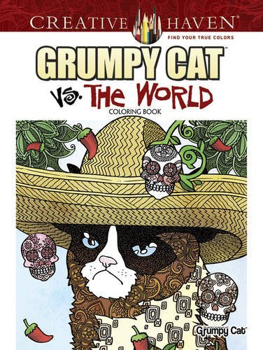 Diego Jourdan Pereira Creative Haven Grumpy Cat Vs. The World Coloring B