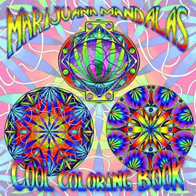 Re Re Marijuana Mandalas Cool Coloring Book