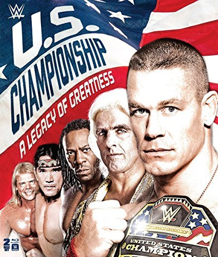 Wwe Us Championship A Legacy Of Greatness Blu Ray