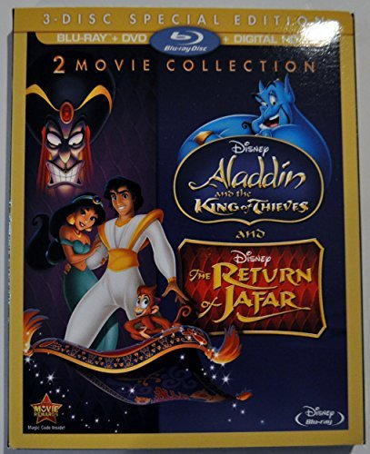 Aladdin & The King Of Thieves The Return Of Jafar Double Feature