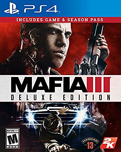 Ps4 Mafia Iii Deluxe Edition (game & Code For Season Pass)