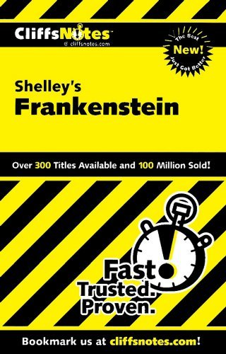 Jeff Coghill Cliffsnotes On Shelley's Frankenstein Cliffsnotes