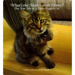Cathy Conheim What's The Matter With Henry? The True Tale Of A Three Legged Cat