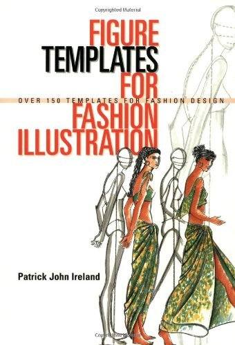 Patrick John Ireland Figure Templates For Fashion Illustration Over 15o Templates For Fashion Design