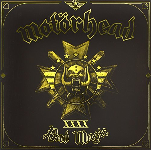 Motörhead Bad Magic (gold Vinyl) 180gm Vinyl W. Digital Download