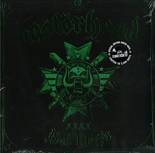Motörhead Bad Magic (green Vinyl) 180gm Vinyl W. Digital Download