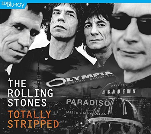 Rolling Stones Totally Stripped Blu Ray + CD