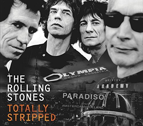 Rolling Stones Totally Stripped DVD + CD