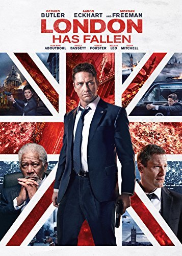 London Has Fallen Butler Eckhart Freeman DVD R