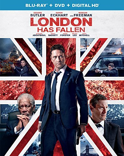 London Has Fallen Butler Eckhart Freeman Blu Ray DVD Dc R