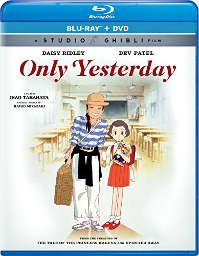 Only Yesterday Studio Ghibli Blu Ray DVD Pg