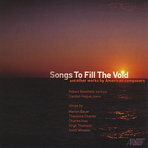 Thomspon Barefield Hague Songs To Fill The Void