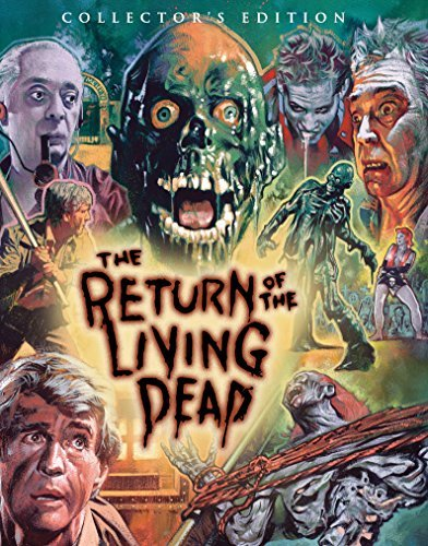 Return Of The Living Dead Mathews Gulager Blu Ray R