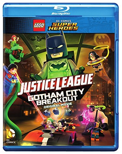 Lego Dc Super Heroes Justice League Gotham City Breakout Blu Ray DVD Dc Minifigure Nr