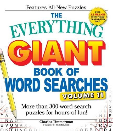 Charles Timmerman The Everything Giant Book Of Word Searches Volume More Than 300 Word Search Puzzles For Hours Of Fu