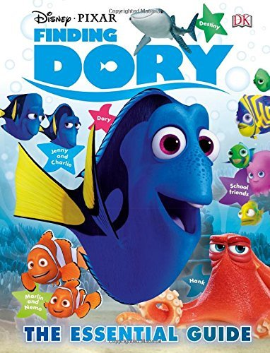 Glenn Dakin Disney Pixar Finding Dory The Essential Guide