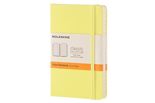 Moleskine Moleskine Classic Notebook Pocket Ruled Citron