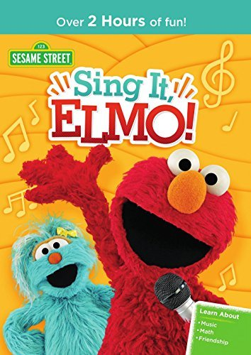 Sesame Street Sing It Elmo DVD