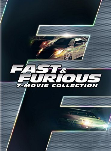 Fast & The Furious 7 Movie Collection DVD